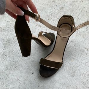 Shoes - Olive heels